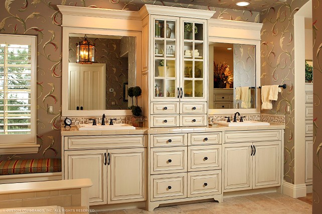 Custom Bathroom Cabinetry Lexington SC CHW Cabinetry