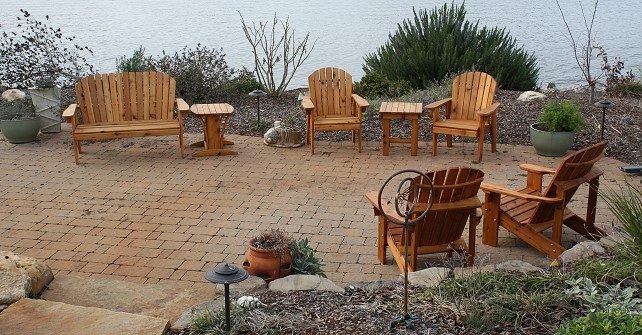 Custom built adirondack furniture by chw outdoors lexington sc - Adirondack style bedroom furniture ...
